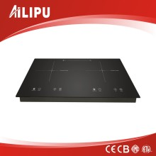 Double Plate Two Burner Induction Cooker with Digital Display