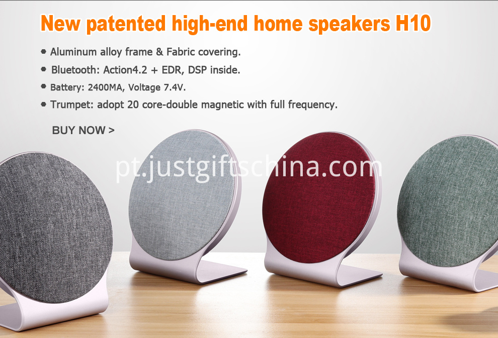 Imprinted Fabric Bluetooth Speaker