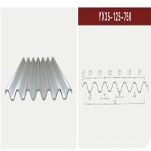 Chapa de acero corrugado / Hoja de acero del techo (XGZ-22)