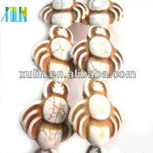 weiß türkis tierische Howlith synthetische Perlen Großhandel