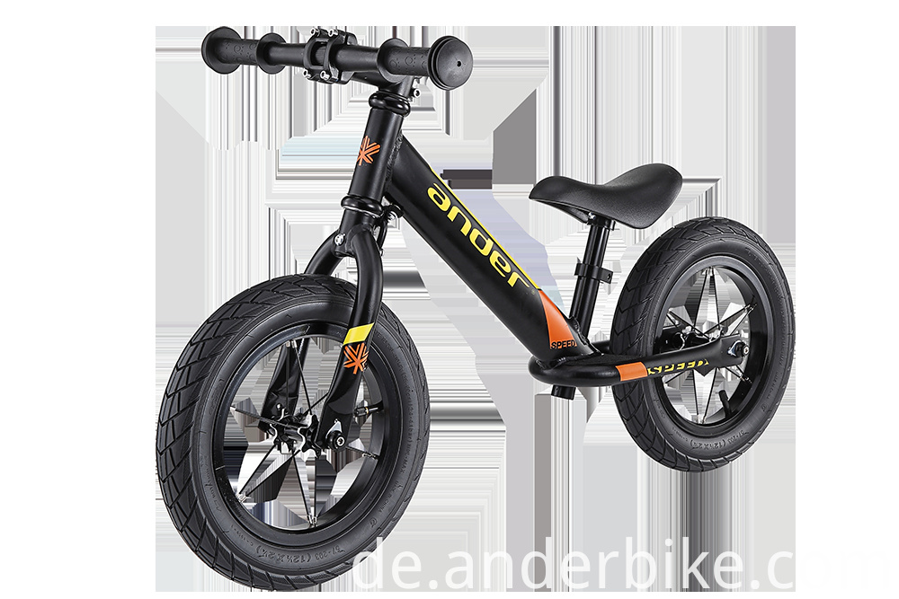 Alloy frame kids balance bike without pedal