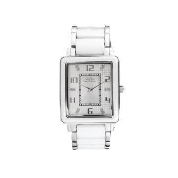 Projeto quadrado, vestido homem relógio de aço inoxidável à prova d 'água banda de pulso moda esporte relógio de quartzo dos homens 88048g