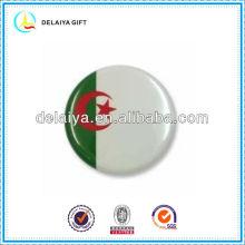 The Algeria flag tin badges