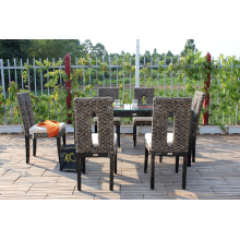 Natural Water Hyacinth Coffee and Dining Set Wicker Furniture