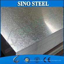 Chapa de aço revestida de zinco mergulhado quente da lantejoula grande de Dx51d Z275