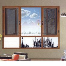 Mosquitera ventana aluminio / aluminio rotura de puente térmico (FT-W135)