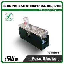 FB-M031PQ Aprobado por UL Igual a Bussmann 1 Pole 30A Ceramic Fuse Box