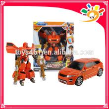 super toy plastic transform car transform robot toy