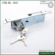 Мебельная фурнитура для столовой безопасности раздвижной дверной замок с плоским крючком