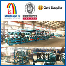 Composite sandwich plate machine Sandwich panel making machine production line