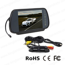 7inch Digital Mirror Monitor Packing Reversing Camera System