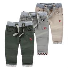 Дети OEM, управляющие таможенными брюками повседневной одежды на шнуровке