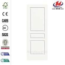24.0 in. x 80 in. Woodgrain 3-Panel Painted Molded Interior Door Slab
