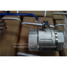 4 ′ ′ Válvula de água de cobre de preço de fábrica (YD-1023)
