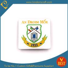 L'insigne Police Droim Mor avec une bonne qualité en fond blanc