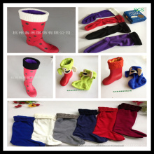 Boot Sock, Boot Warmer, Sockings, Chaussette Rain Boot. Chaussette à fourrure, Boot Liner, Welly Liner