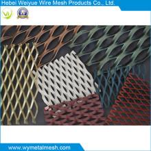 Tôle en métal déployé avec enduit de PVC