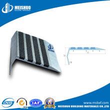 Sicherheits-Aluminium-Treppenstufen-Nase mit Carborundum-Streifen
