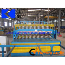 China hot sale high automatic efficient reinforcing steel mesh welding machine supplier