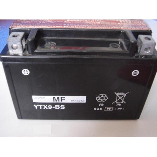 Batteries moto OEM YTX9-BS 12V 8Ah