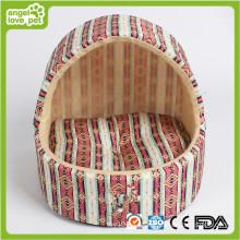 Cama hecha a mano del perro, cama interior de la casa de perro (HB-pH558)