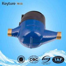 Medidor de agua volumétrico de tipo seco de latón