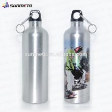 Hot Selling 700ml Custom blank aluminum water bottle for sublimation