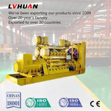 China Famoso generador de gas de lecho de carbón Lvhuan 500kw con sistema CHP