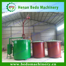 China gold supplier environmental friendly bamboo charcoal carbonization kiln with CE certification