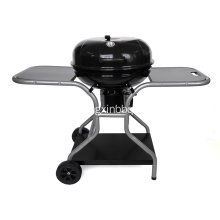 22,5 tums vattenkokare Deluxe Charcoal Grill med vagn