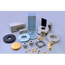 Мощный магнит неодимового магнита с полукруглой поверхностью для громкоговорителя, двигатель постоянного тока