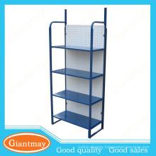 blue color light duty portable folding shelves