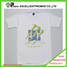 Logo promotionnel imprimé 100% coton t-shirt personnalisé (EP-T82963)