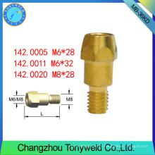Soporte de punta de contacto para consumibles de soldadura, soporte de boquilla 36kd