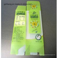 Конкурентоспособная фабрика упаковки Кита PVC / PET / PP пластичная (напечатанная коробка подарка)