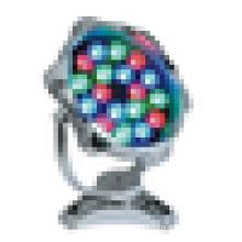 Coloré IP68 18W fontaine lampe sous-marine légère DC / AC 24V