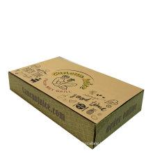 Custom Corrugated Kraft Paper Packaging Box Brown Paper Carton Box
