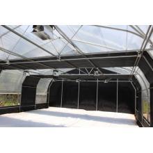 Serre commerciale automatisée d'obscurcissement de polycarbonate Serre d'obscurcissement Serre de privation de lumière