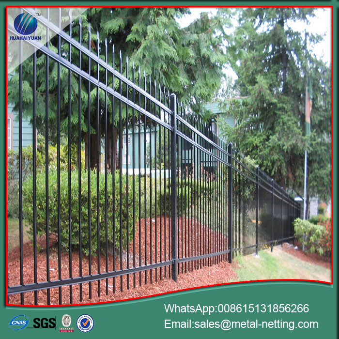 garden metal steel fence