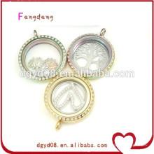 Fashion floating necklace pendants supply best friend pendants