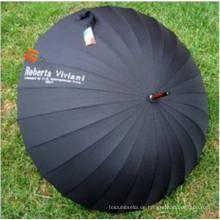 Schwarze hochwertige Adertising Golfschirm (YS-G1011A)