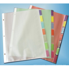 Chinese Supplier Fashion and Practical Sh7505 Clear Sheet Protector