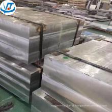 Placa de liga de alumínio de bloco de alumínio personalizado 7075 t6 revestido de precisão