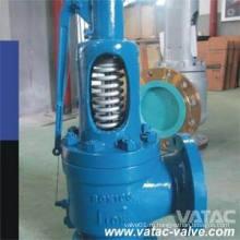 Полное или низкий подъем пружиной бронзы и литой стали предохранительный клапан сброса давления нержавеющей стали открыть или закрыть капот