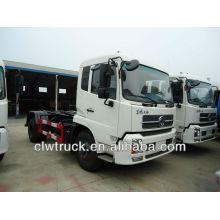 Dongfeng TianJin brazo de basura camión de basura (8-12 cubo)