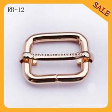 RB12 Professional made alloy buckle metal bag buckle strap adjustable