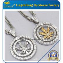 Fashion Jewelry Diamond Charm Necklace