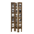 Tall Standing Panel Photo decorated Privacy Screen Room Divider