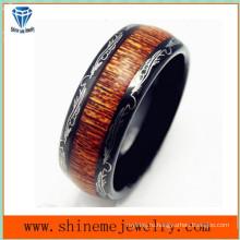Европа и США ювелирные изделия вольфрама Оптовая продажа матовый кольцо