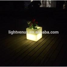 Garden Decoration led flower pot, LED flower planter